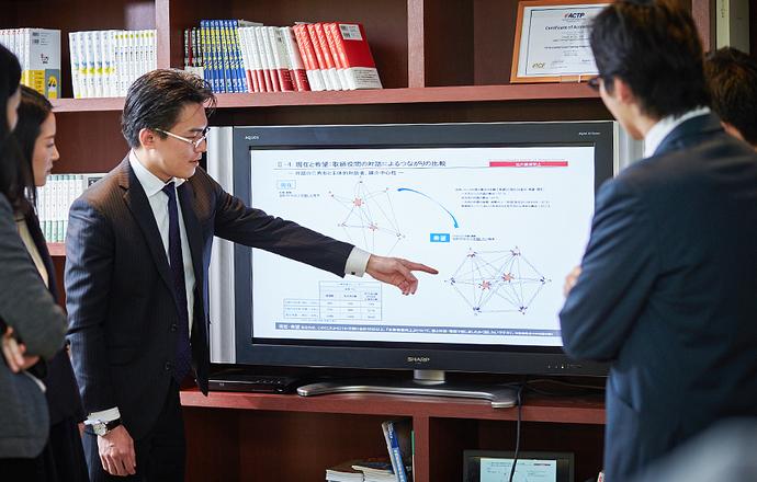 株式会社コーチ・エィの当社の強み・当社の課題について写真1