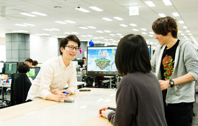 株式会社コロプラの当社の強み・当社の課題について写真2