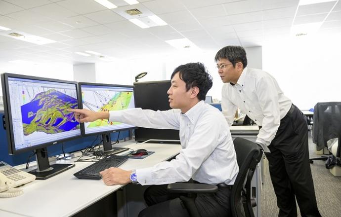 石油資源開発株式会社の当社の強み・当社の課題について写真2