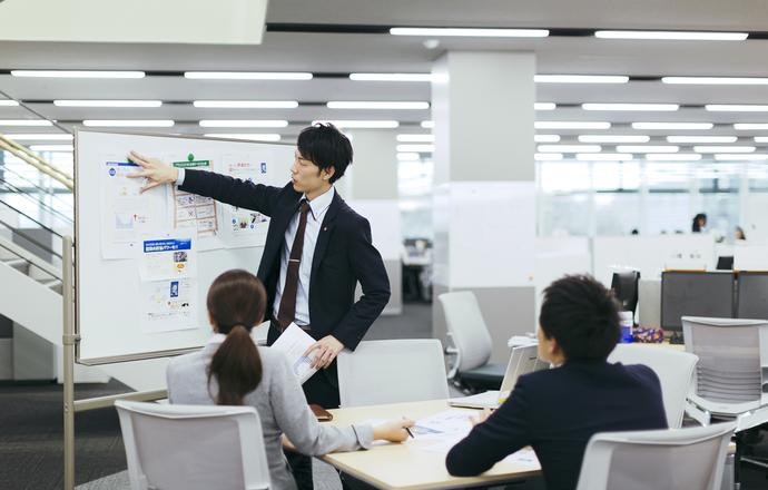 株式会社えがおの会社について写真2