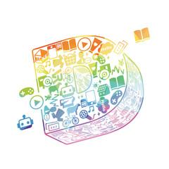 合同会社DMM.comのロゴ写真