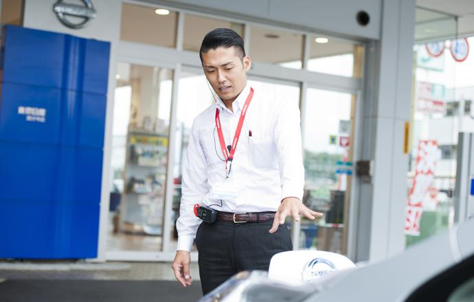 東京日産自動車販売株式会社の会社について写真1