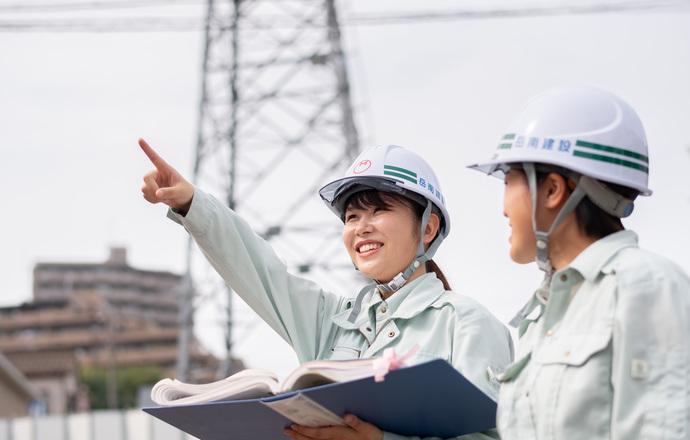岳南建設株式会社の会社について写真1